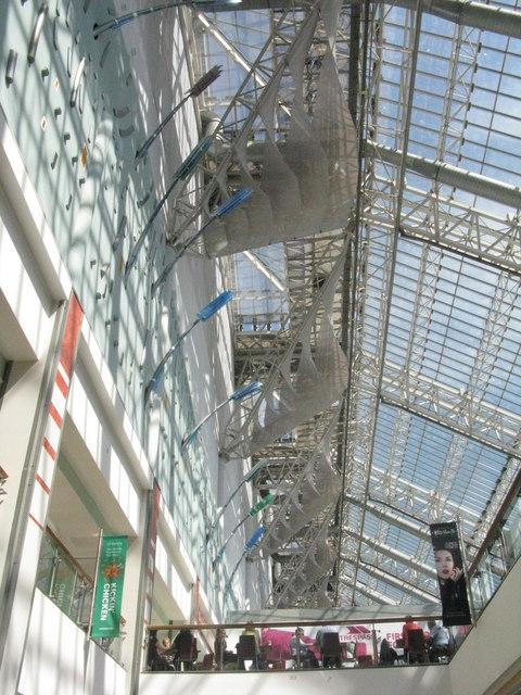 Lattice roof, St Enoch Centre