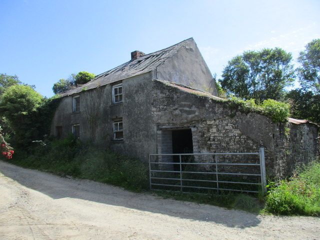 Derelict cottage near Robert's Cove