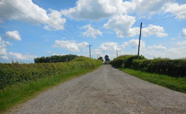 Top Lodge Farm Driveway