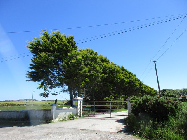 Farm entrance near Churchtown South
