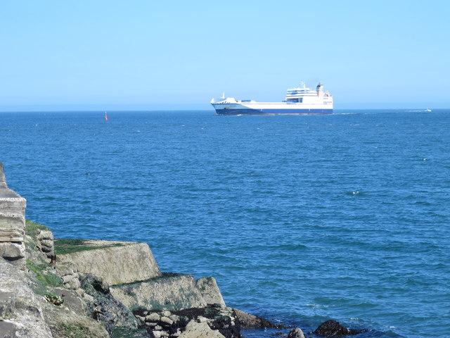 Ship off South Gare