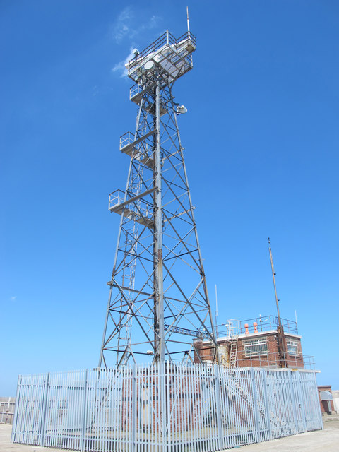 Mast at the Coastguard Station on South Gare