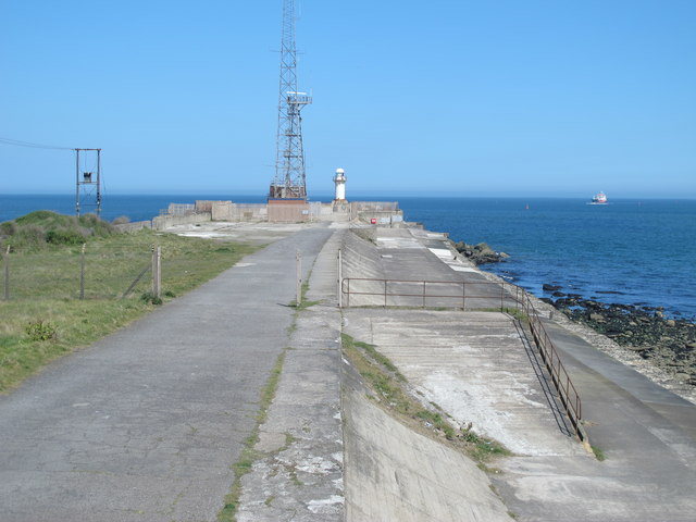The South Gare Breakwater