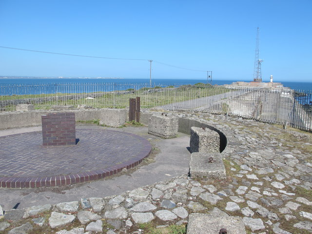 Old gun emplacement on the South Gare breakwater (2)