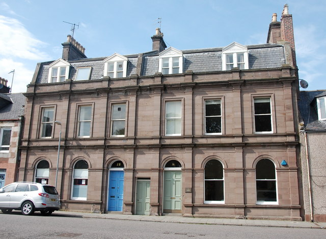 26-28 Cameron Street, Stonehaven by Bill Harrison