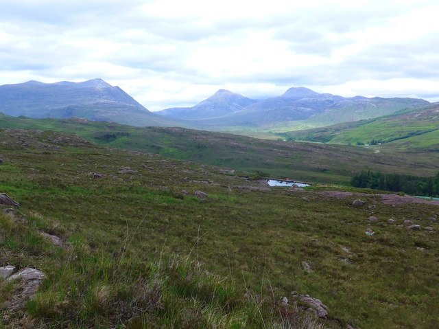 Small dam above Couldoran by Gordon Brown