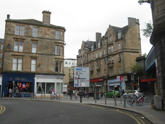 Saltmarket, south of Glasgow Cross