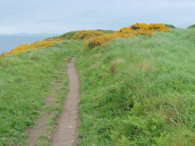 The Pembrokeshire Coast Path near Priest's Vault