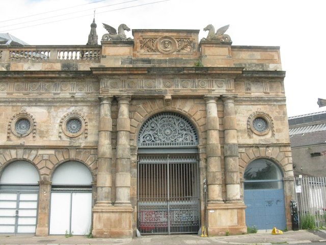 Briggait Fishmarket Entrance