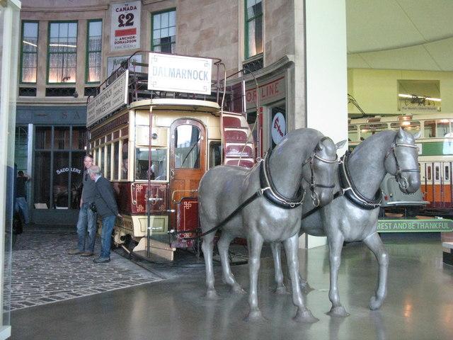 Horse Drawn tram to Dalmarnock