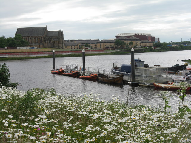 Riverside Museum Pier for the Govan Ferry