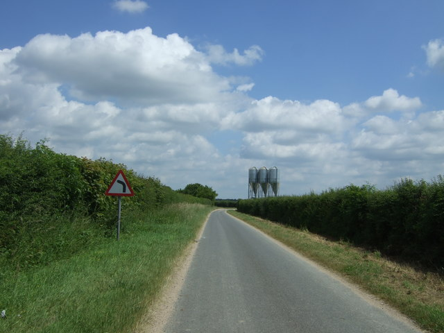 Heading north east towards Beachamwell