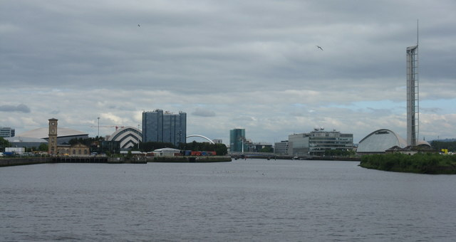 The River Clyde skyline