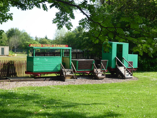 Children's Playground at Alford Valley Railway Museum
