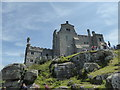 SW5129 : The castle, St. Michael's Mount by pam fray