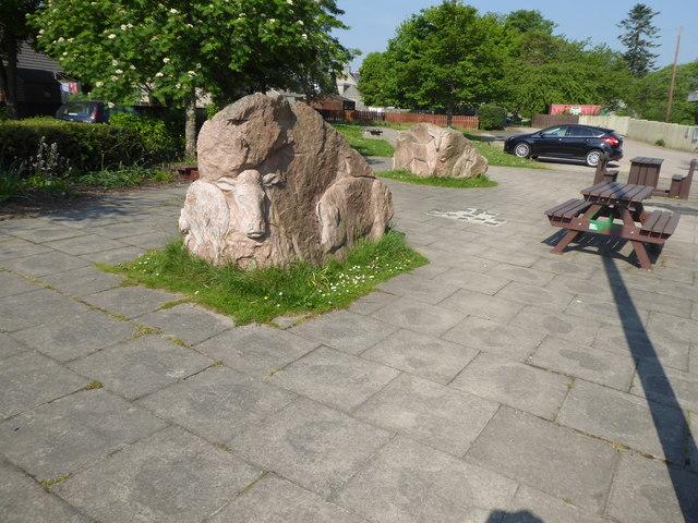 Sculpture Garden, Alford