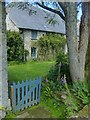 SW6031 : Side gate to Godolphin House by Robin Drayton