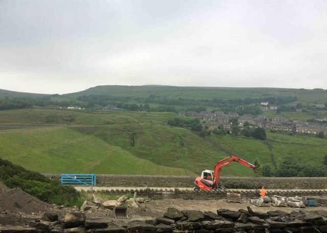 Butterley reservoir inprovement works