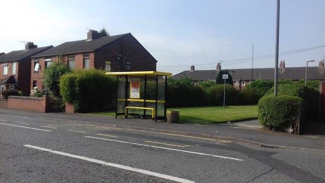 Bus Shelter on Broad Oak Road
