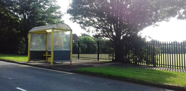 Bus Shelter at King George V Playing Fields