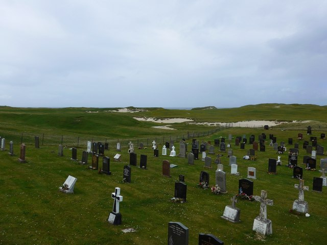 Cemetery at Allasdale