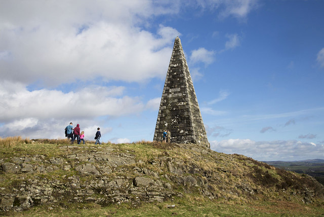 Neilson's Monument on Barstobrick Hill