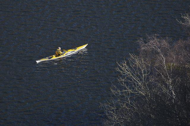 Kayaking on Thirlmere Reservoir
