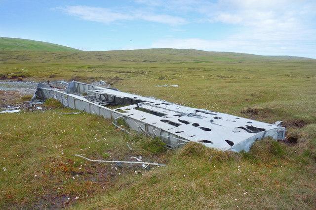 Air Crash Debris from 1942