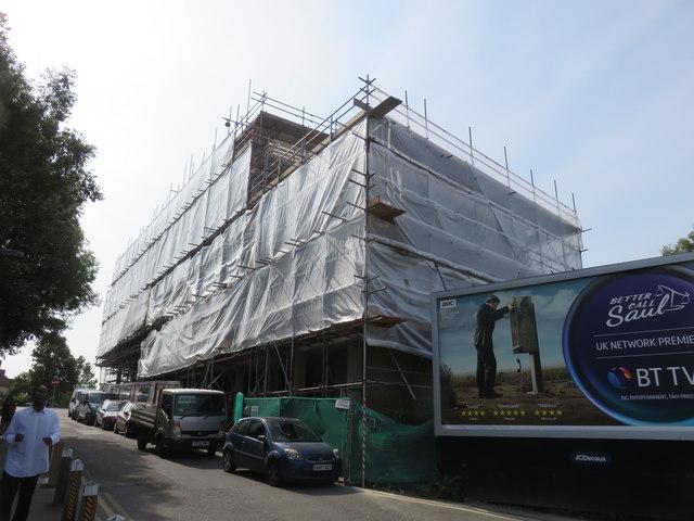 Construction Work in Mottingham