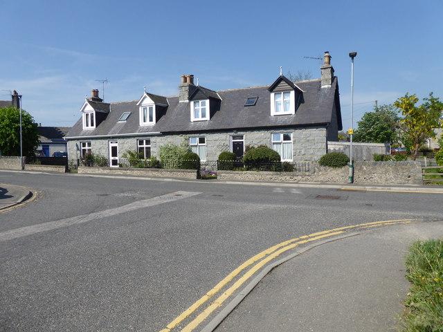 Semi-detached Cottages, Alford
