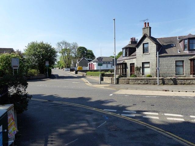 Road Junction in Alford