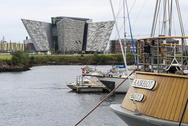 Titanic Belfast and 'Kaskelot'
