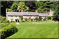 ST7733 : Cottages at Stourton by David Dixon