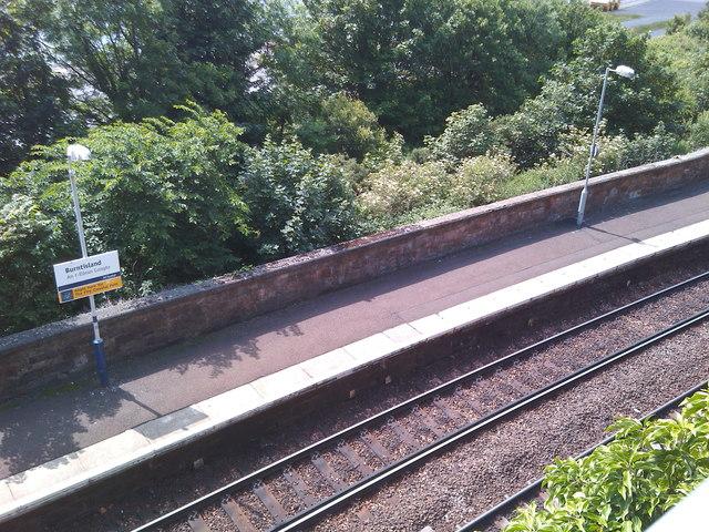 Edinburgh-bound platform