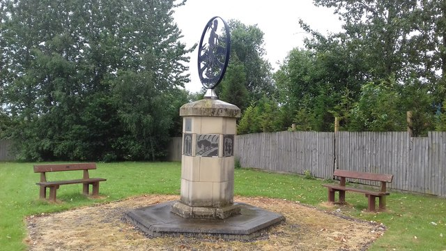 Memorial to Wood Pit and Lyme Pit Disasters