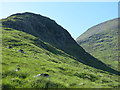NN2447 : Cliffs on Meall Tionail, Blackmount by wrobison