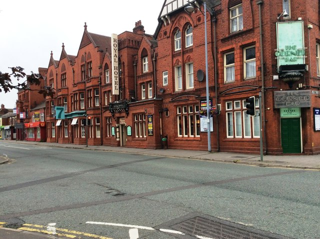 The Royal Hotel, Crewe