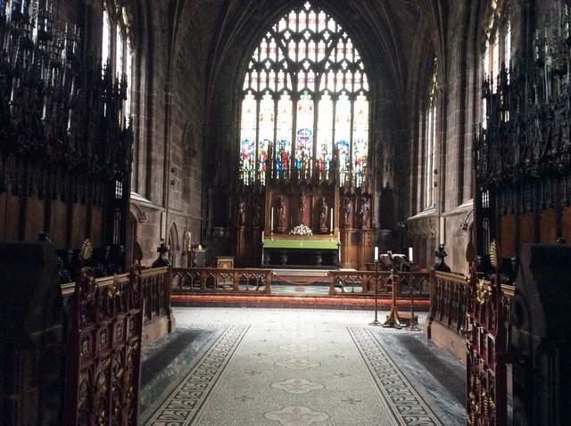 The Altar, St Mary's Church, Nantwich