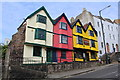 ST5873 : Colourful buildings on St Michael's Hill Road, Bristol by Richard Hoare