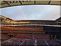 TQ1985 : Rainbow over Wembley Stadium by Richard Humphrey