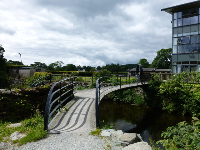Footbridge over the River Kent