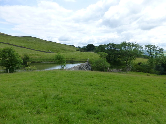 The dam on Ghyll Pool