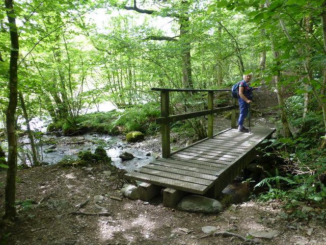 Footbridge in Beckmickle Ing
