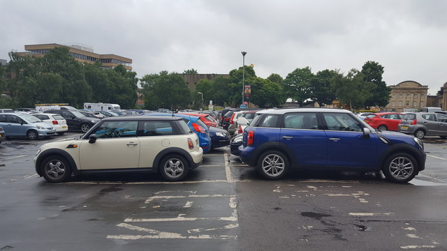 Two Minis near the York Castle Museum