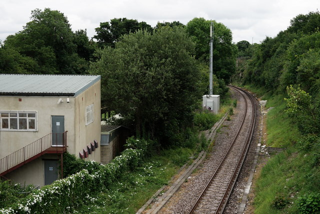 Railway Line at Banstead
