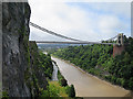 ST5673 : Clifton Suspension Bridge by Anne Burgess