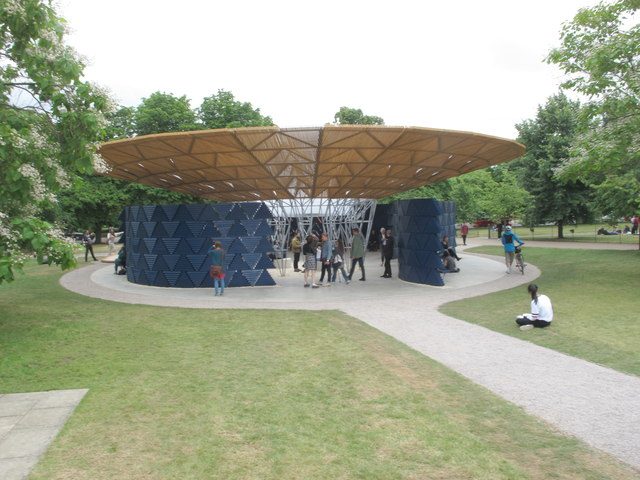 Serpentine Gallery Pavilion 2017 from gallery