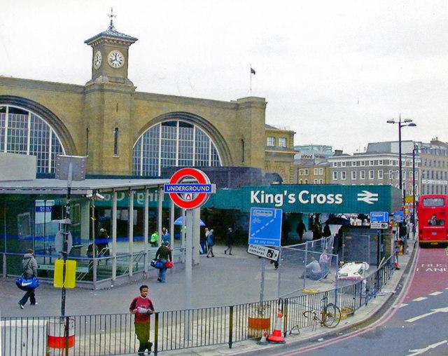 King's Cross station, 2006