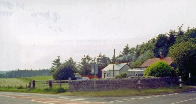 Former Knowesgate station, 2000