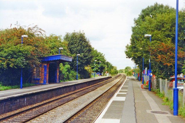 King's Sutton station, 2001